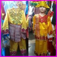 Baju Gorontalo Sd Pakaian Adat Gorontalo L Xl