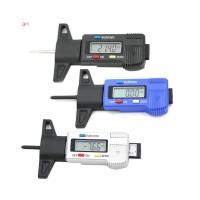 Car Tire Tester Brake Shoe Pad Wear Digital Tyre Depth Gauge Tread Mon