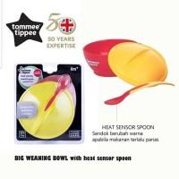 New !! TOMMEE TIPPEE HEAT SENSING BIG WEANING BOWL