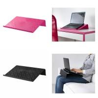 STOK TERBARU IKEA BRADA Alas laptop pink oranye hitam