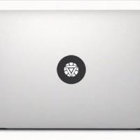 Decal Macbook Sticker - Ironman Chest 2 Logo onderdil