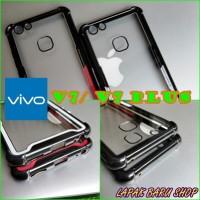 Vivo V7 Y75 Anticrack Tempered Glass Transparan Case - Cafele Like