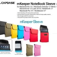 CAPDASE mKeeper Notebook Sleeve Slek for Macbook Pro 15 Inch, Notebook
