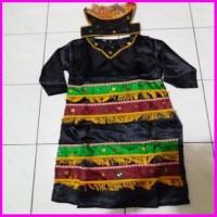 Baju Adat Papua Sd Pakaian Adat Papua Satin L Xl