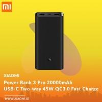 New Xiaomi Power Bank 3 Pro 20000mAh USB C Two way 45W QC3 0 Fast