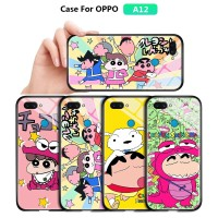 OPPO A12 A12E For Casing Phone Case Cartoon Anime Chibi Maruko