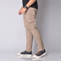 original CELANA CARGO / LONG CARGO BASIC TWIST MOCCA PREMIUM -