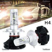 TBID belle 2PCS X3 H4 100W 12000LM LED Headlight Turbo Light Bulbs