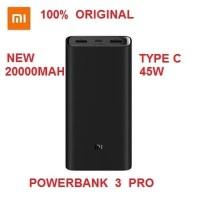 Dijual Xiaomi Powerbank Mi3 Pro 20000mAh 45W Type C Fast Charging