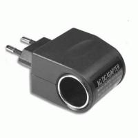 Car Charger Switch EU Plug 12V 500MA Adaptor Lighter