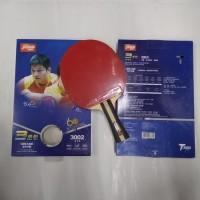 Bet Tenis Meja DHS 3002 Pingpong Table Tenis