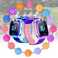 Jam Pintar Anak Q12 Kids Smartwatch GPS LBS Camera Phone Game Pedom