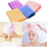Hair wrap magic towel hairwrap handuk penyerap air dengan cepat