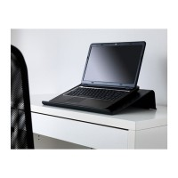 Diskon Stand Tempat Penyangga Alas Laptop Ikea Brada Hitam Promo Best