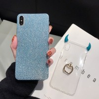 Shiny Casing Samsung Galaxy S10 + S8 S9 Plus Note 9 S7 edge Silikon