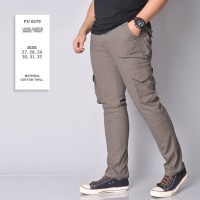 original CELANA CARGO / LONG CARGO BASIC TWIST GREY PREMIUM -