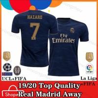 turun Jersey Real Madrid Away Baju Bola Grade :AAA 19/20 Tambah Nama