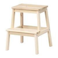 Unik IKEA BEKVAM - Bangku Tangga bahan kayu - Step Stool Limited