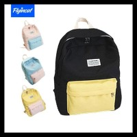 Flyincat Tas Ransel Korea Wanita Korean Fashion School Bag Kanvas