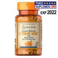 VITAMIN C1000 Puritans Pride C-1000 60 Tablet Time Release C TIME 1000