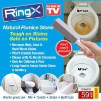 Alat Pembersih Kerak Plak WC Toilet Keramik Wajan Ring X Pumice Stone