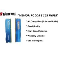 RAM 2GB HYPER DDR3 MEMORY PC 10600 KOMPUTER RAM 2 GB HYPER DDR 3