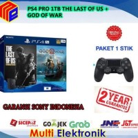 PS4 PRO 1TB THE LAST OF US & GOD OF WAR