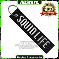 Gantungan Kunci Keychain SQUID LIFE Premium