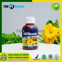 WALATRA HEXABUMIN (Madu+Albumin) ASLI 100% Vitamin Nafsu Makan Anak