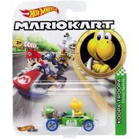 Hot Wheels Mario Kart Koopa Troopa Mario Die Cast