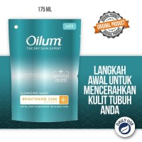 Sabun untuk Pencerah Kulit Oilum Brightening 175 ml pouch