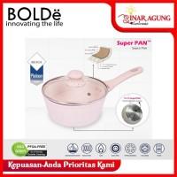 BOLDE SUPER PAN SAUCE PAN PANCI GRANITE COATING 18CM BEIGE