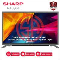 SHARP LED TV 32 Inch HD - 2T-C32BA2i 32INCH SILVER (100% ORI)
