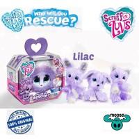 Moose Little Live Pets Scruff a Luvs Friends Lilac Scruffy Fluffy