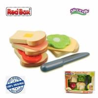 Red Box Toy Slice a Rific Sandwich Playset Masak Roti