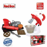 Red Box Toy In Home Electronic Mixer Playset 21209 Kitchen Kue RedBox