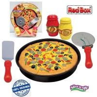 Red Box Toy Slice a Rific Cut & Play Pizza Set Playset Masak
