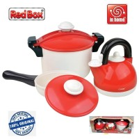 Red Box Toy in Home KitchenWare Set 21204 Alat Masak RedBox