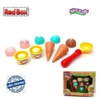 Red Box Toy Slice a Rific Ice Cream Playset Es Krim