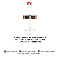 "Meinl MARATHON® SERIES TIMBALE 14"" X 15"" - STEEL ANTIQUE - MT1415RR-M"