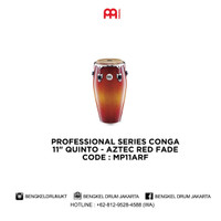 Meinl PROFESSIONAL SERIES CONGA AZTEC RED FADE