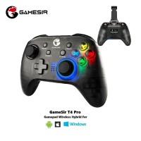 GameSir T4 Pro Gamepad Wireless Hybrid with Smartphone Holder