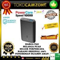 PowerBank Anker PowerCore Speed 10000 Quick Charge 3.0 - Black