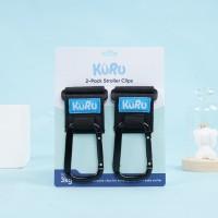 KURU Stroller Hook 2 pcs   Gantungan Large Stroller Hooks Premium
