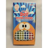 DOT 9mm REWARD STICKER - Sticker DOT 09mm - TOM and JERRY [ 1 Pad ]