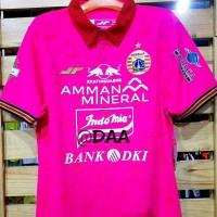 Jersey Persija Kiper Replica Pink Away GK Original 100 % - PINK, S