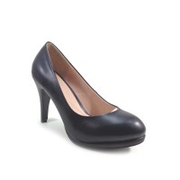 Workswell Sepatu Kerja Wanita High Heels 9cm kode 085A Hitam Dove