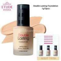 Etude - Double Lasting Foundation Set isi 3 New