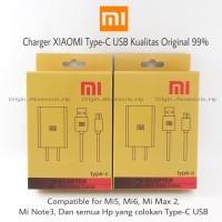 Charger XIAOMI Type-C Type C USB Mi5 Mi6 Kualitas Original 99% | Casan