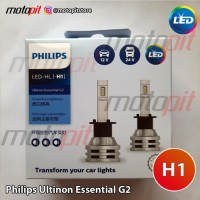 Philips LED H1 Ultinon Essential G2 Lampu Utama Putih 6500K 12V 24V